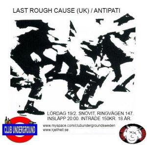 Last rough cause